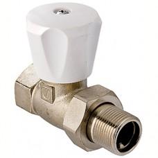 VT.008L Клапан ручной VALTEC (компактный)  радиаторный прямой 1/2 верхний