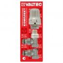 VT.045.N.04 Комплект для подключения радиатора 1/2 угловой