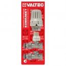 VT.046.N.04 Комплект для подключения радиатора 1/2 прямой