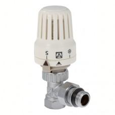 VT.047.N.04 Клапан с термостатической головкой  для радиатора угловой 1/2